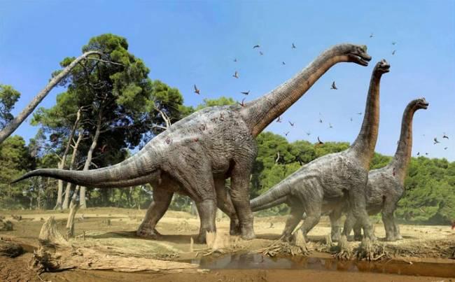 крупный травоядный динозавр