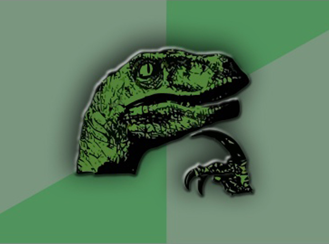 Динозавровый философ