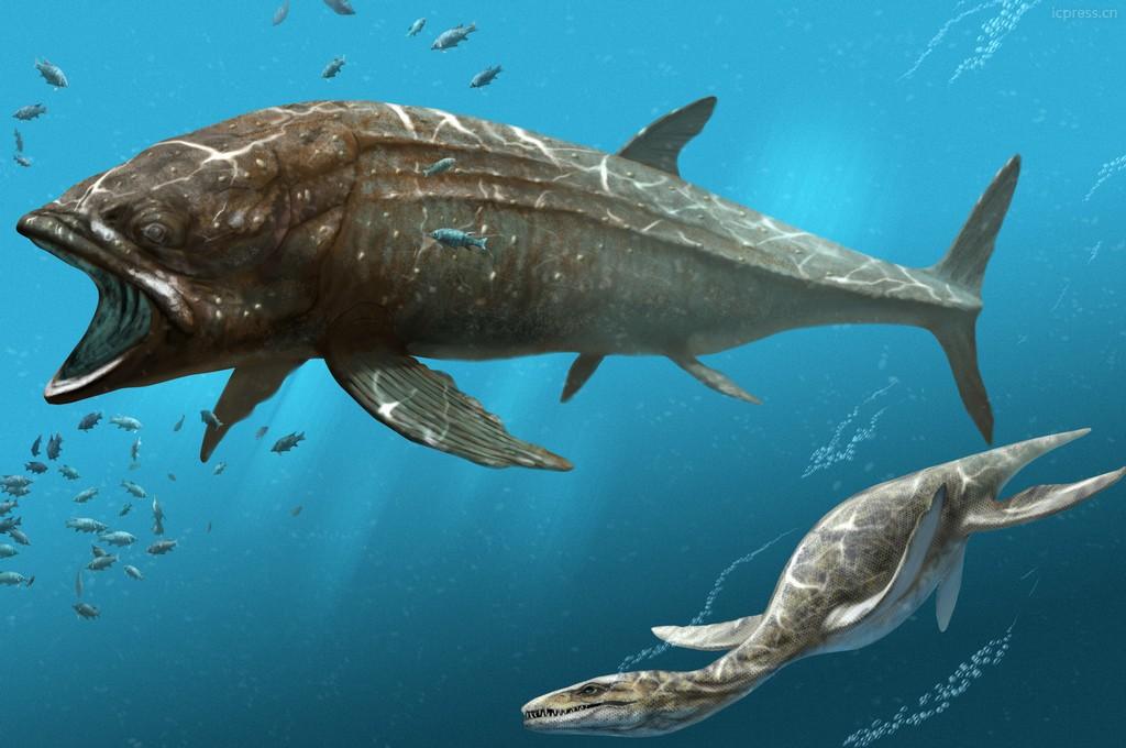 Доисторические рыбы картинки