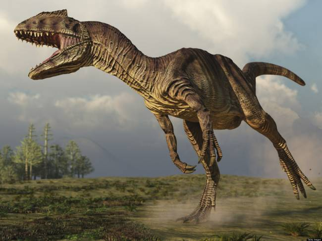 Аллозавр фото