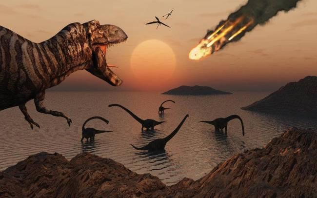 почему вымерли динозавры фото