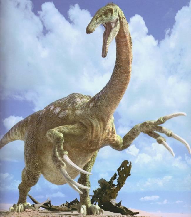 Теризинозавр фото
