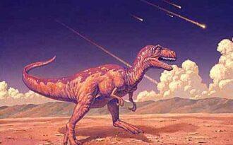 астероид динозавр