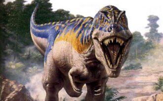 челюсти динозавра