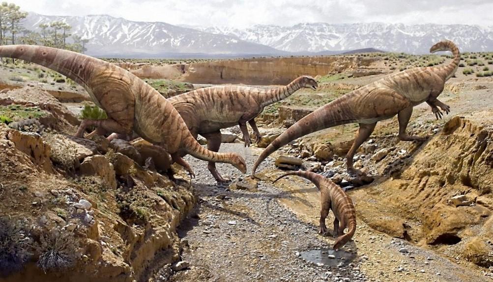 Первые динозавры