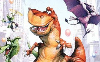 Мультфильм Мы вернулись! История динозавра