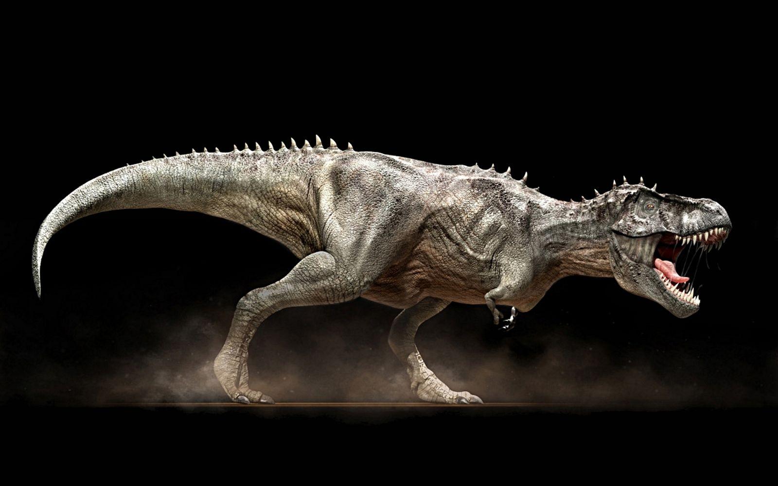Древний динозавр
