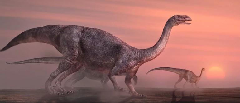 Платезавр: массивный растительноядный ящер