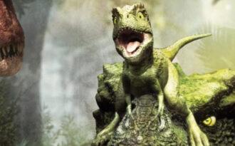 Тарбозавр мультфильм для детей