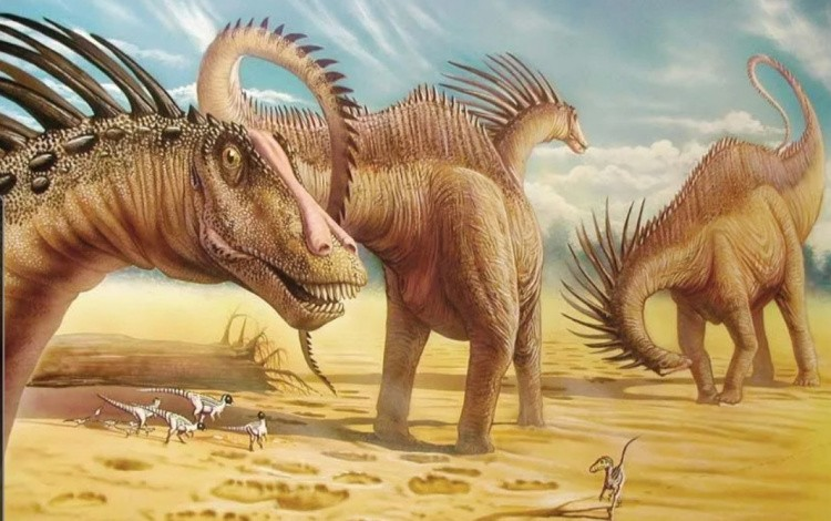 Amargasaurus фото