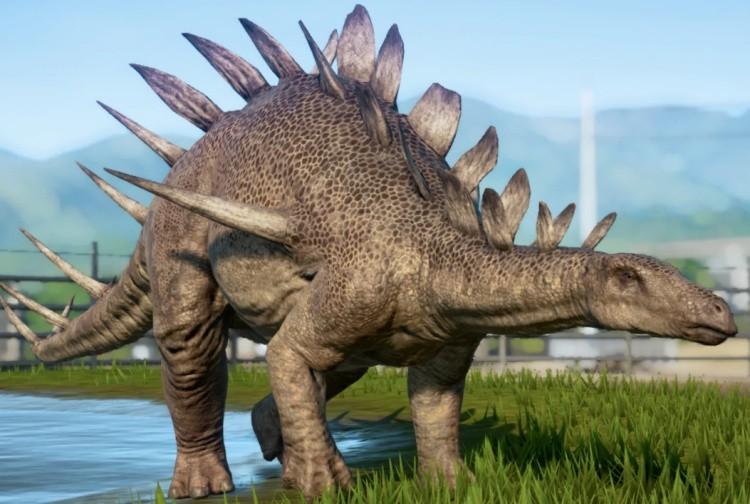 Кентрозавр динозавр
