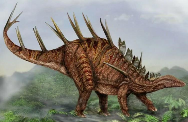 Кентрозавр картинка