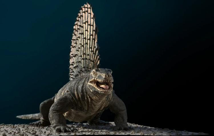 Эдафозавр динозавр
