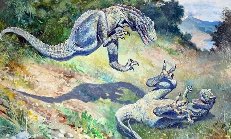 Дриптозавр фото