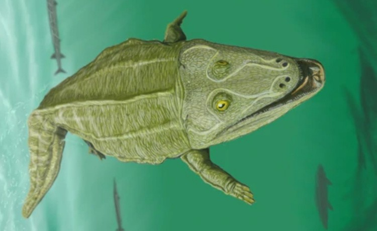 Мастодонзавр картинка