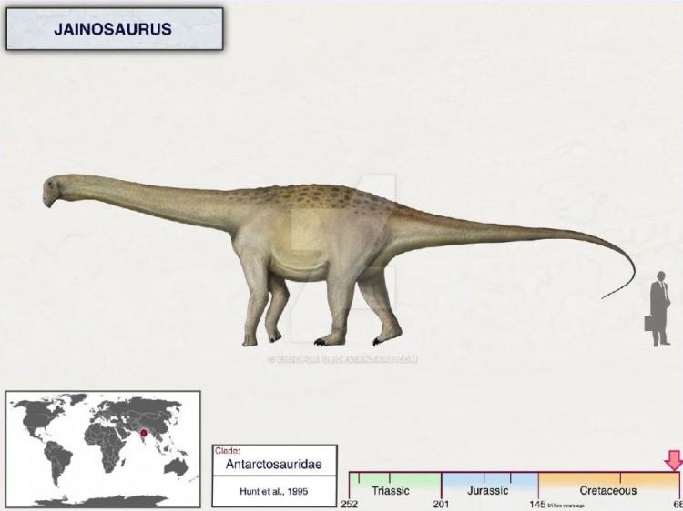 Джайнозавр динозавр